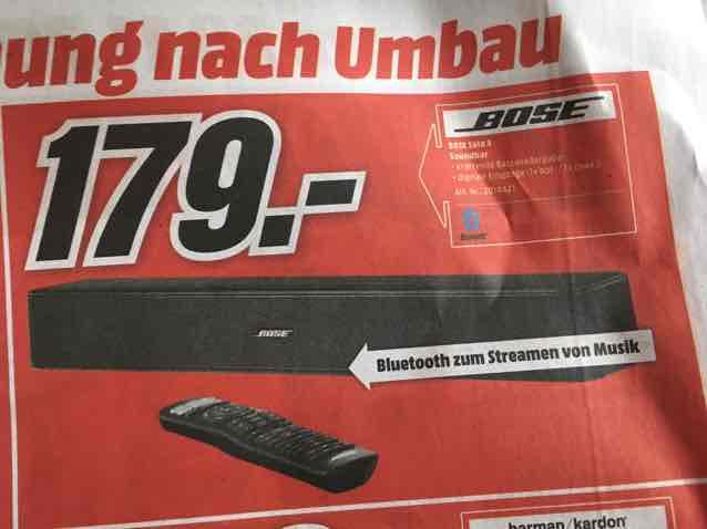 BOSE Solo 5 Soundbar (lokal) Köln