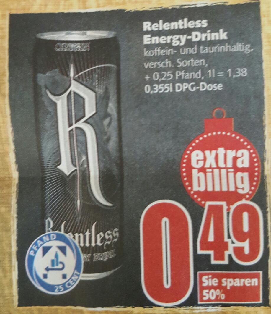 [EDEKA] Relentless Energy-Drink im BraWoPark Braunschweig