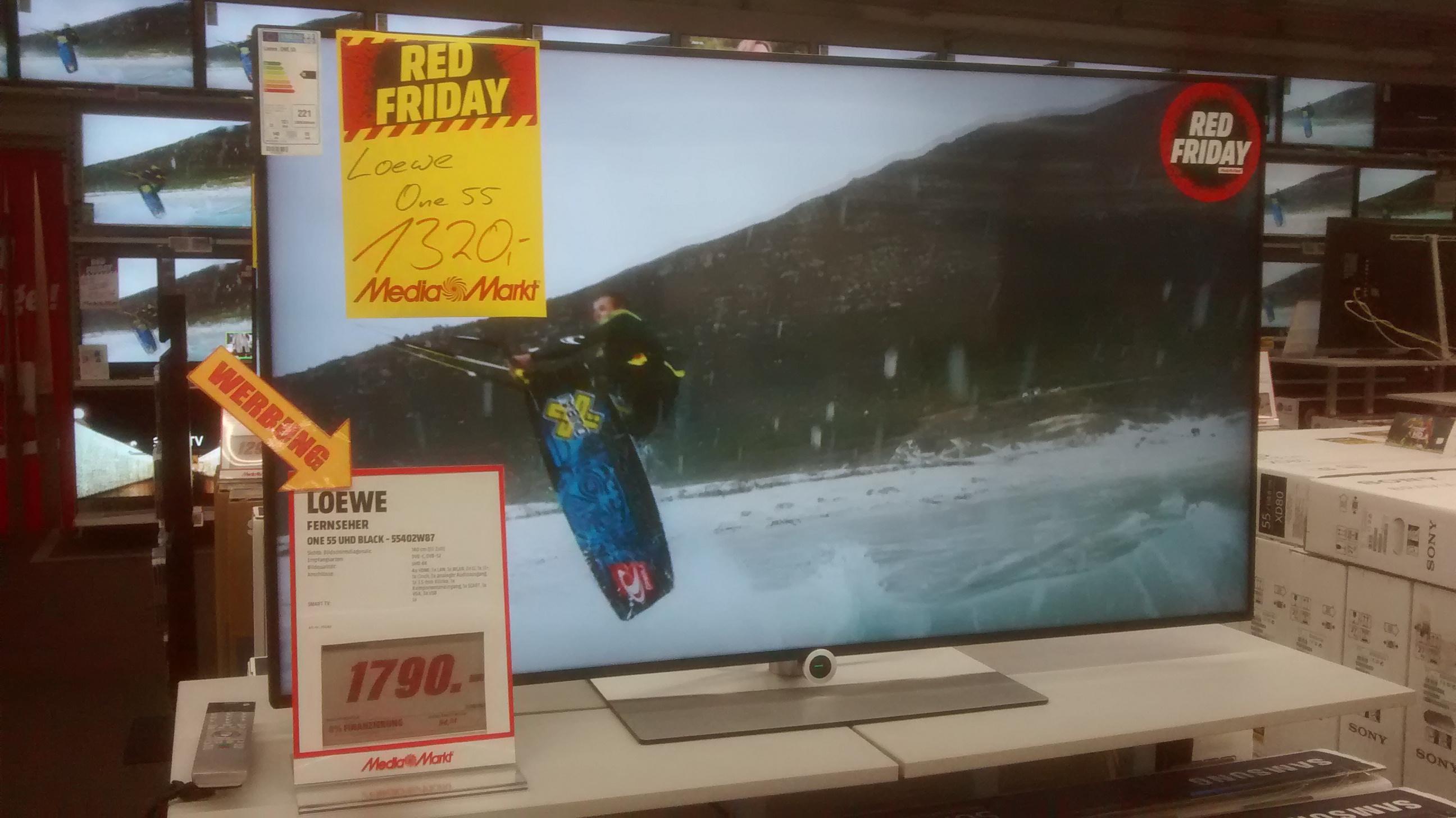Loewe One 55 UHD-TV lokales Angebot MM Viernheim