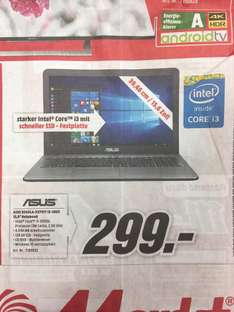 "Lokal MM Köln- Kalk 15,6"" Notebook Asus R540LA"