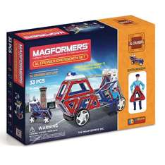 Amazon Italien: Magformers XL Cruisers Emergency Set (274-23)
