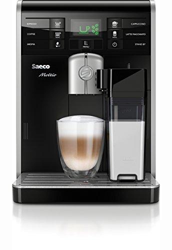 Saeco HD8769/01 Moltio Kaffeevollautomat, integrierte Milchkaraffe, schwarz für 479€ statt 649€ [Amazon Angebot des Tages]