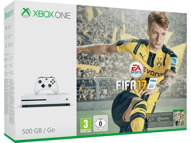 [Offline Saturn] Xbox One S + Fifa 17 + 1 Kontroller 219 EUR