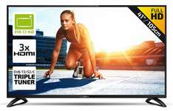 [Marktkauf] DYON MOVIE TV (FHD, 105,4 cm, Triple Tuner + DVB-T2 , CI+, 3x HDMI, 1x VGA, 1 x Scart, 1 x Mini AV, 1x USB, EEK A) für 199€