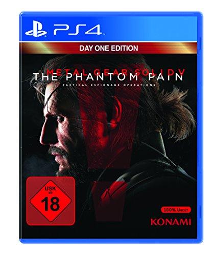 wieder verfügbar! Metal Gear Solid V: The Phantom Pain - Day One Edition – [PS4] für 10,99€ + 5€ USK 18 Versand statt 19,99€ [Amazon & Saturn]
