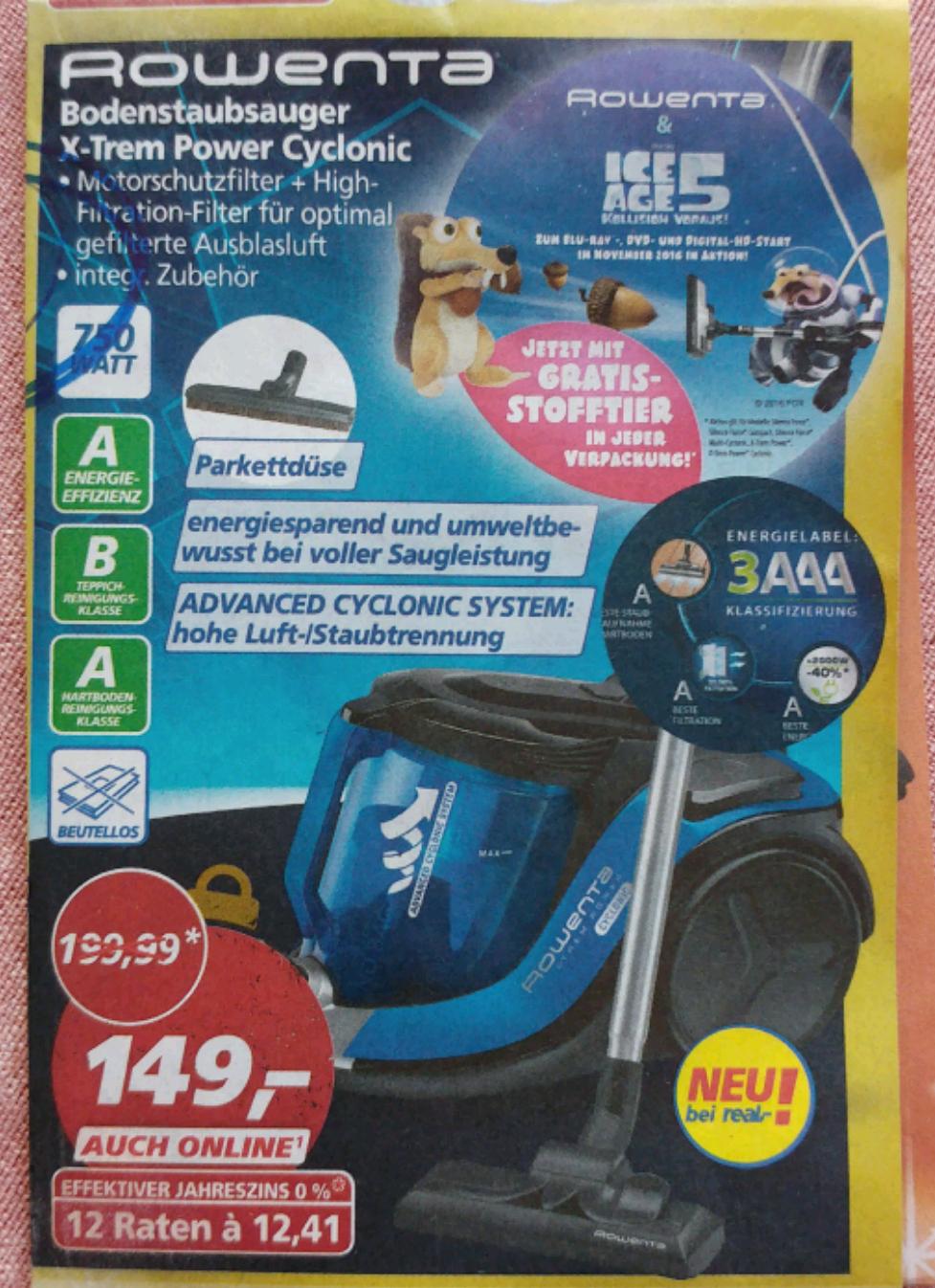Bodenstaubsauger Rowenta RO 6941 EA