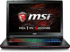 MSI GE72VR-6RF161 - Intel Core i7-6700HQ 2.60GHz (GTX1060/Win10) - WOW