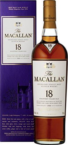 [Amazon UK] The Macallan Whisky Sherry Oak Malt 18 Jahre