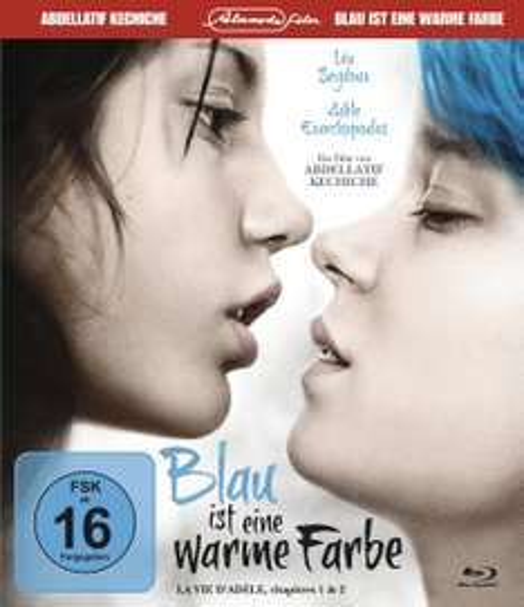 [Blu-ray] Blau ist eine warme Farbe (La vie d'Adèle, chapitres 1 & 2) [Special Edition] für 5,83 mit PRIME @amazon.de
