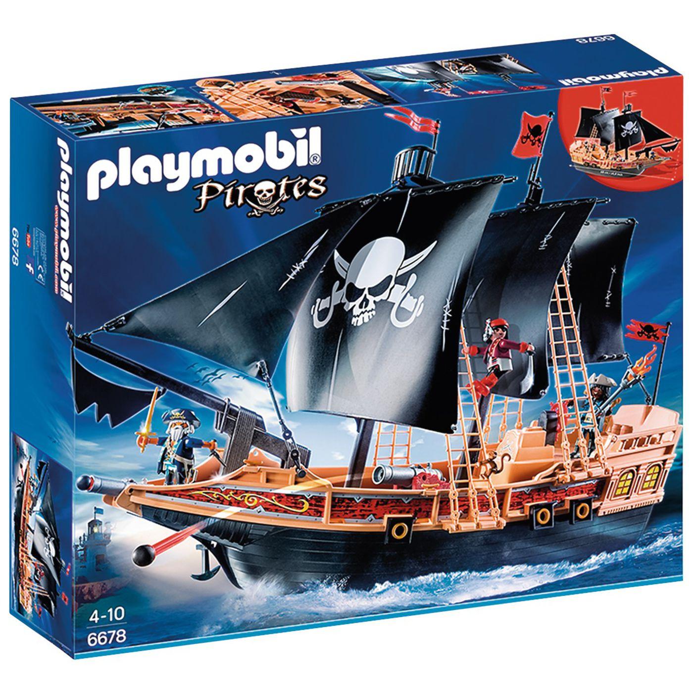 Bundesweit Real ~ PLAYMOBIL® 6678 Piraten-Kampfschiff (Personalkauf Tage vom 30.11.-02.12.2016)
