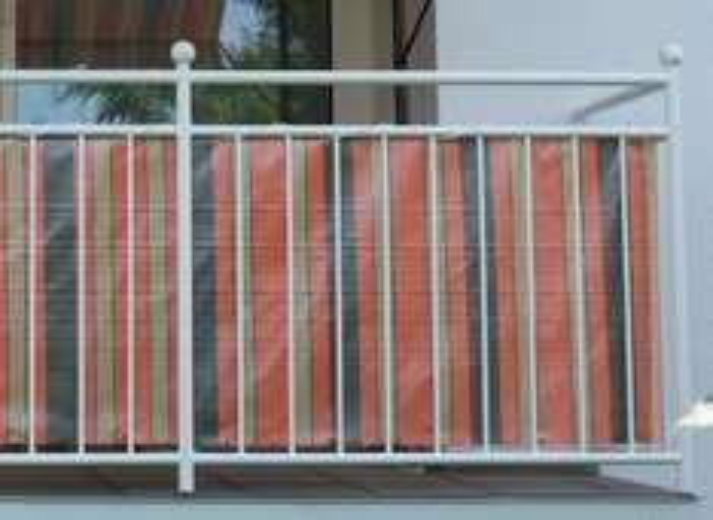 Angerer Balkonbespannung, Braun/Terra, 75 cm hoch, Länge: 8 Meter für 11,54€