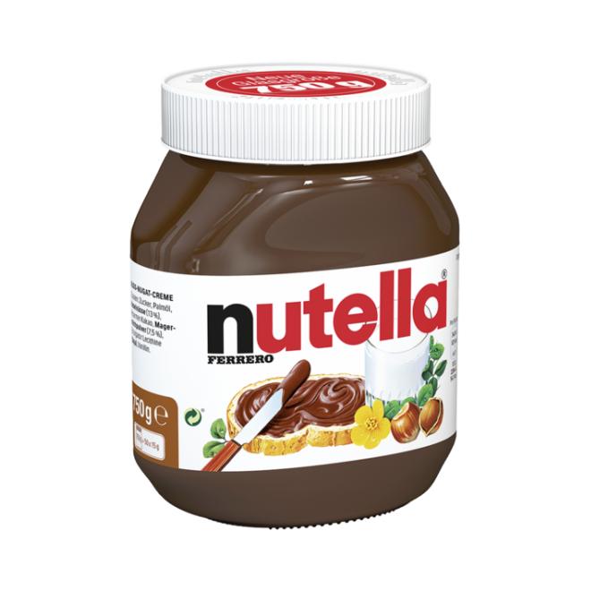 Bundesweit in Hit Filialen: 750gr Nutella für 2,89€