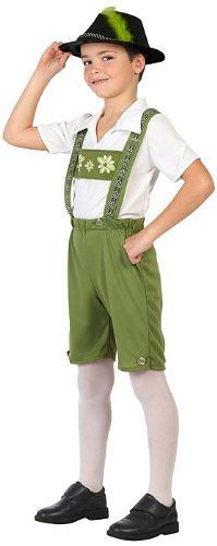 Atosa 23231 - Deutsche Junge Tracht, Größe 104, grün für 4,18€