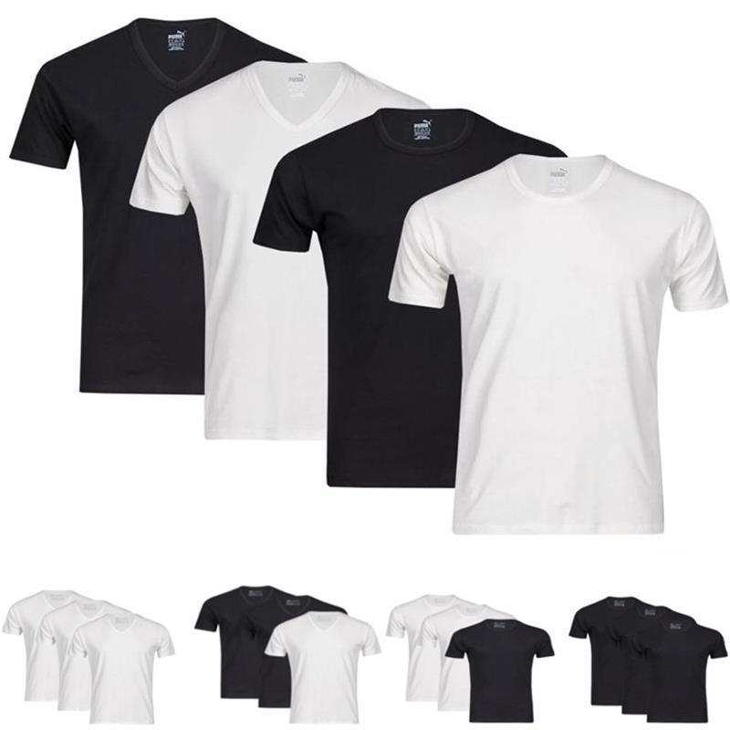 eBay SALE WOW - Puma 6er Pack Herren V-Neck/Rundhals T-Shirts
