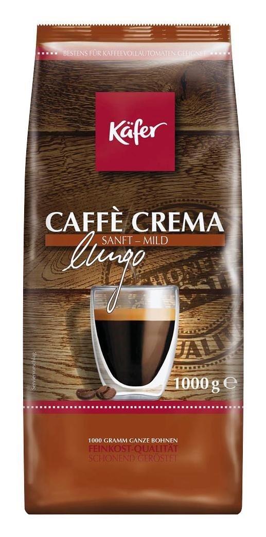 [Netto MD] Käfer Caffè Crema lungo/Espresso forte ganze Bohnen 1 kg ab 6,39 €
