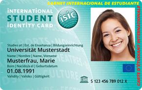 ISIC, IYTC und ITIC 5€ günstiger