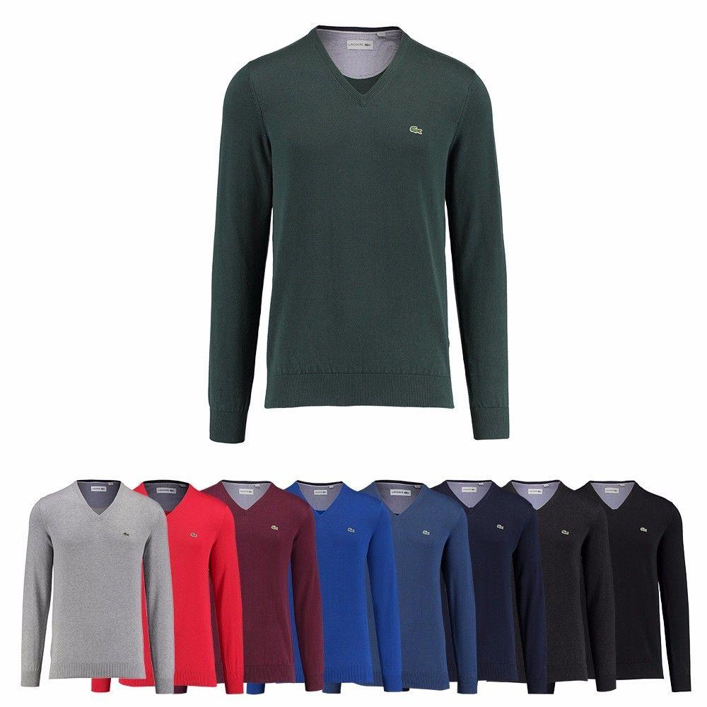 [eBay WOW] Lacoste Herren Pullover V-Ausschnitt /  statt 99,90 €