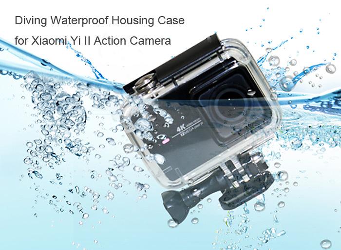 [Gearbest] Unterwassercase Xiaomi Yi ll 4k Actioncam für 6,58 €