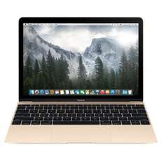 "[Check24 / Photo Porst] Apple MacBook 12 (Core m5-6Y54, 512 GB SSD, 12"", 2304x1440, glare, IPS,  gold) [2016]"