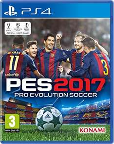 Amazon UK  - PES 2017 PS4 XBOX One