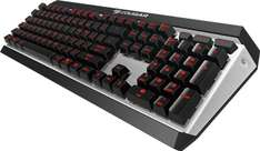 Cougar Attack X3 für 93,89€ bei Case-King - Gaming-Tastatur - Cherry MX-Brown
