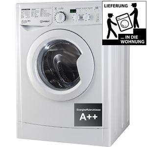 INDESIT Waschmaschine EWD 61482 W DE Frontlader EEK: A++ 1400 U/min 6 kg NEU 249€ inkl. Versand