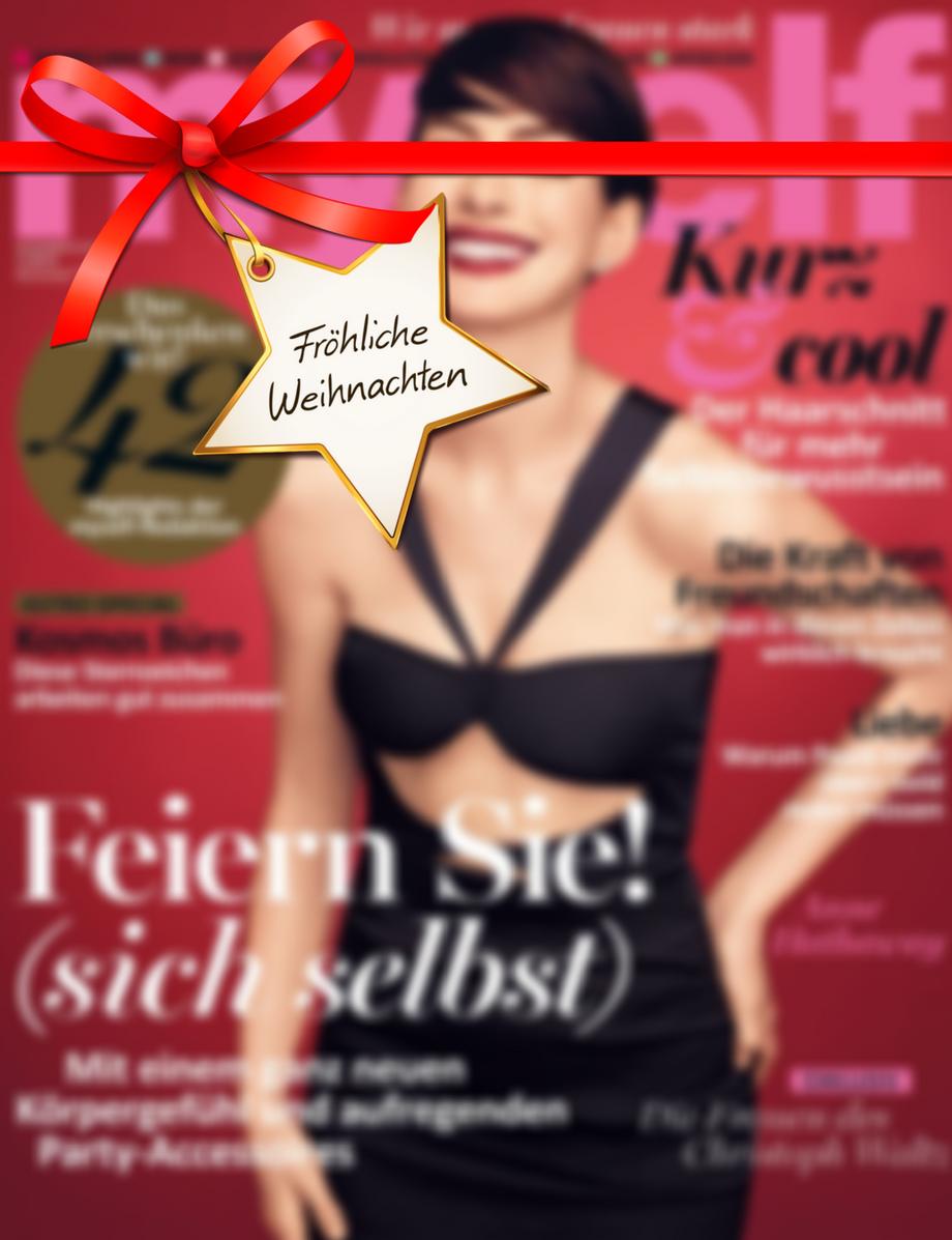 Myself - 4 Ausgaben der Frauenzeitschrift für 10,20€ mit 10€ Amazon-Gutschein oder Verrechnungsscheck - Kein Werber nötig