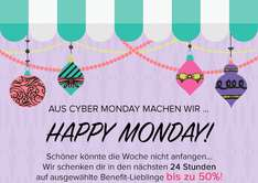 Benefit Cosmetics: bis zu 50% am Cyber Monday