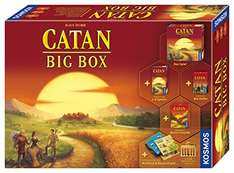 [Amazon] Kosmos Catan 693725 - Big Box 35,99€
