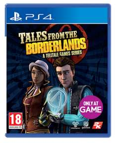 (Game.co.uk) Tales from the Borderlands (PS4/Xbox One) für 9,75€