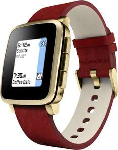 [voelkner.de] Pebble Smartwatch Time Steel (generalüberholt) 3.2 cm 1.26 Zoll Gold