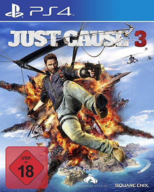 [PS4] Just Cause 3 UK Version inkl. dt. Sprachausgabe