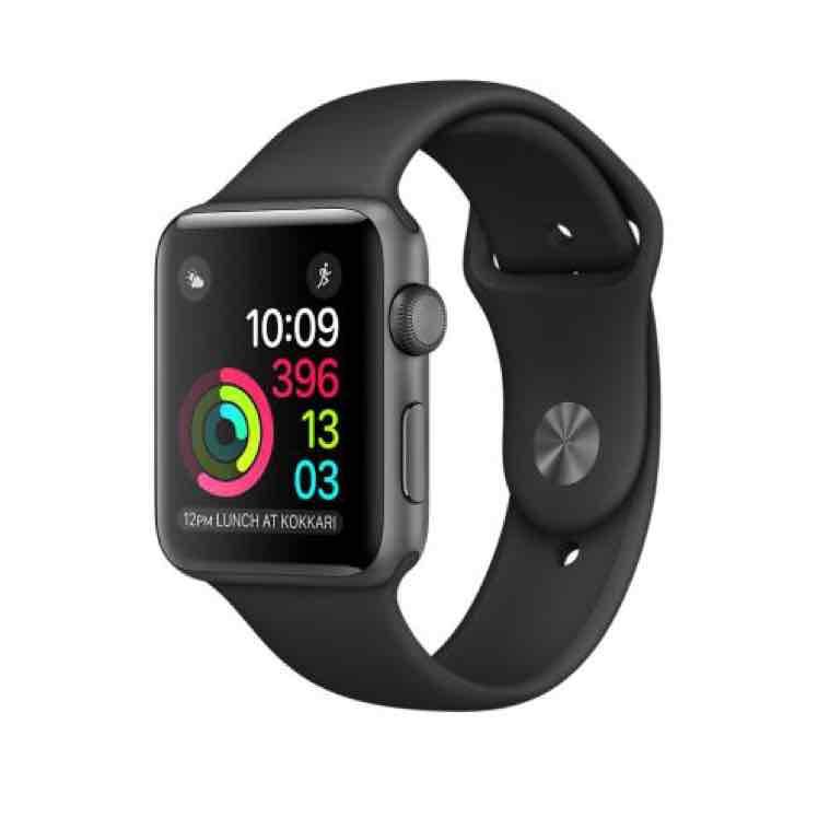 [Beendet] Apple Watch Series 1 42mm refurbished Black Aluminium