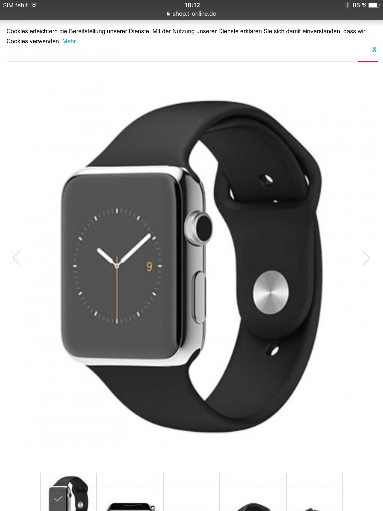 Apple Watch Edelstahl - refurbished von apple - 42 mm
