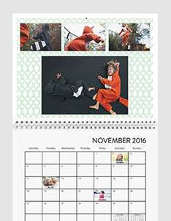 3 Fotokalender zum Preis von 2 bei Snapfish - Ideal als Weihnachtsgeschenk