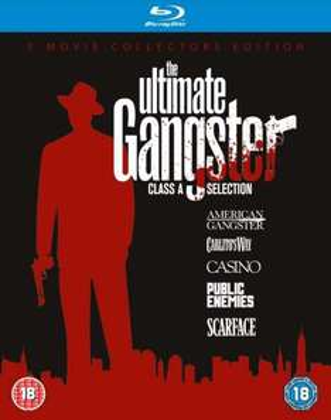 Ultimate Gangster Box Blu-ray 5 Filme [3/5 OT] @zavvi Scarface, Carlito's Way, Casino, American Gangster, Public Enemies