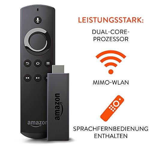 Fire TV Stick mit Sprachfernbedienung, Zertifiziert und generalüberholt für 29,99€ statt 44,99€ [Amazon  Angebot des Tages]