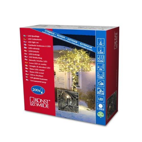 Konstsmide Micro LED Lichterkette mit 200 Dioden für 15,95€(statt 24€) bei Amazon