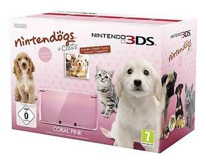 Nintendo 3DS Pink inkl. Nintendogs Dogs & Cats für 119€ @eBay