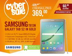 CyberSale .Samsung GALAXY Tab S2 9.7 T813N Tablet WiFi 32 GB Android 6.0 gold