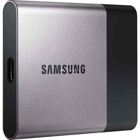 """[Zackzack.de] Samsung SSD 250GB Portable """"T3"""" USB3.1"""