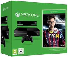 [Gamestop Bundle] XBOX ONE + Kinect + FIFA 14 & Forza Motosport 6 oder Gears of War 4