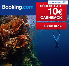 (Shoop) Booking.com: 10€ Cashback auf alle Hotelbuchungen ab 79€