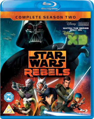 Star Wars Rebels - Die komplette zweite Staffel [Blu-ray] für 11,79€ bei Zavvi