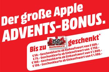 Media Markt Paderborn: Gutscheine beim Kauf von Apple Produkten (ab 500€ Einkaufswert)