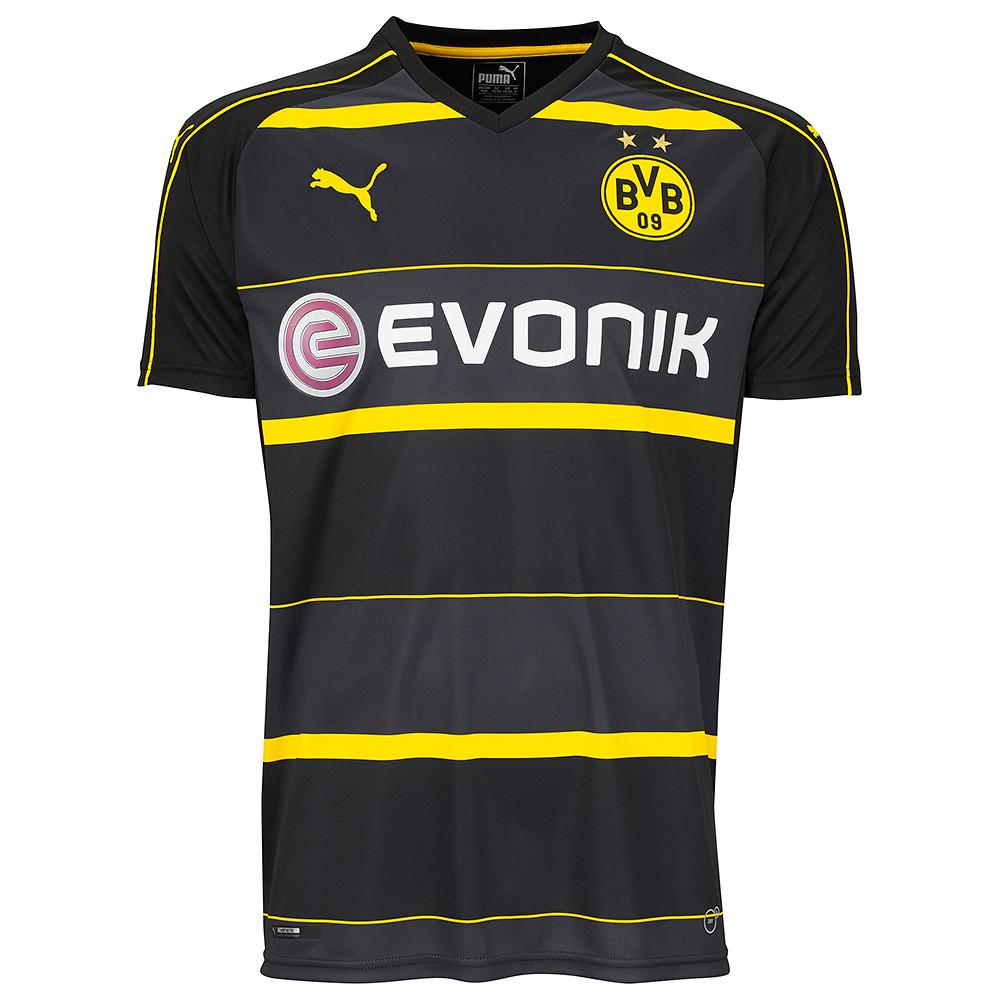(fan & more) PUMA BVB 09 Borussia Dortmund Kindertrikot away und Torwart