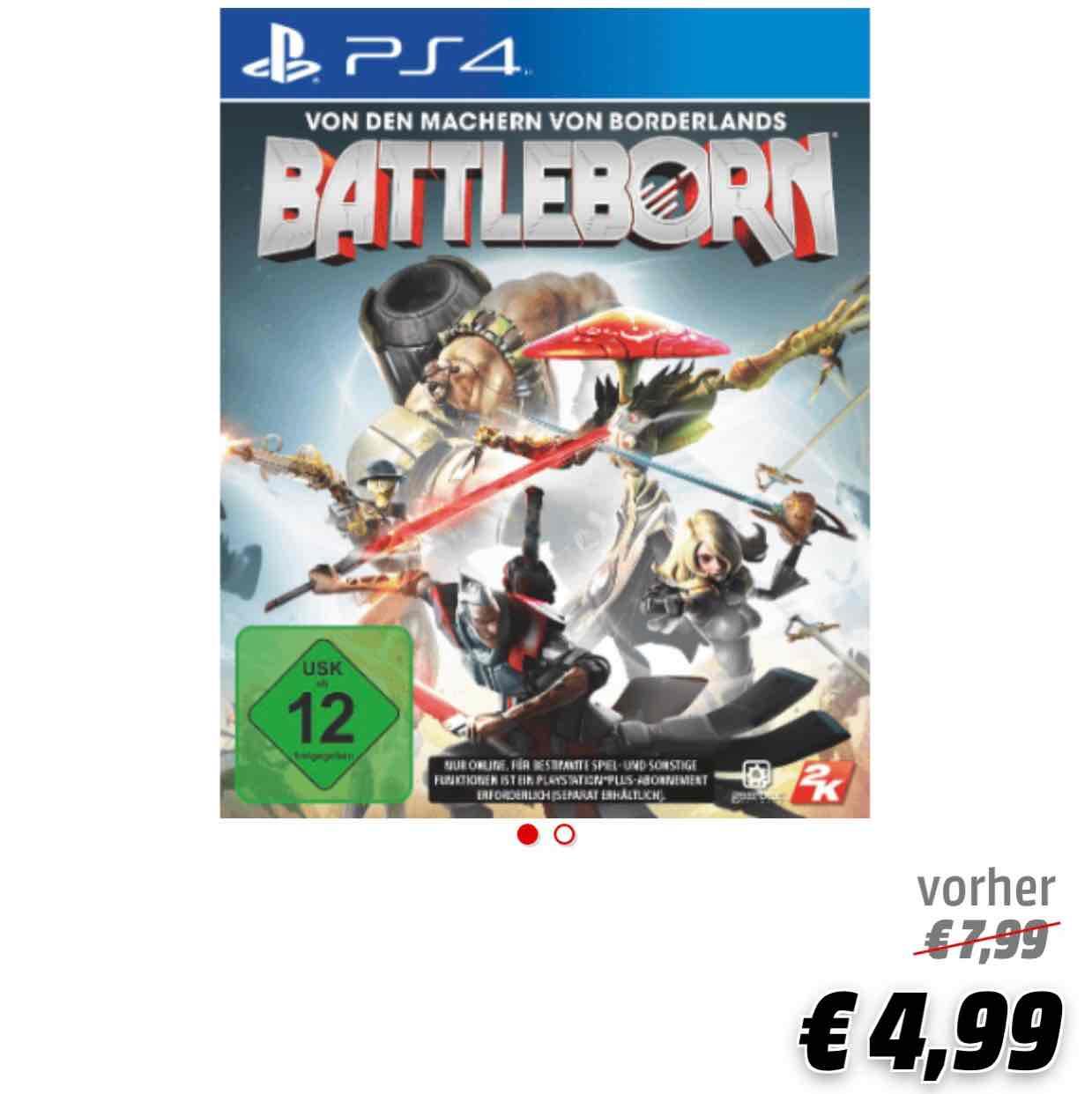 Battleborn PS4 jetzt bundesweit 4,99€ [ Abholung im Media Markt ]