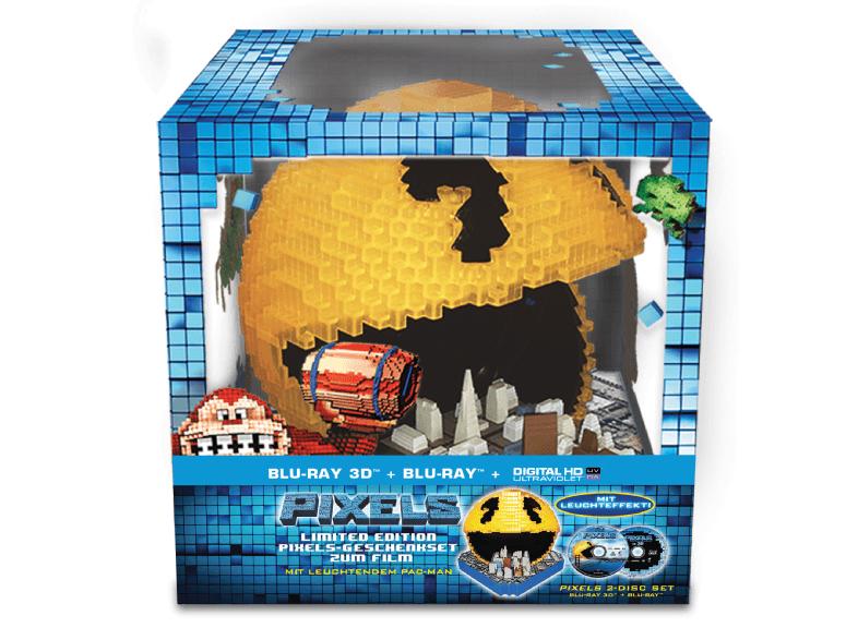 [Media Markt Online] Pixels Pacman Cityscape Edition (2Disc) 3D / 2D [3D Blu-ray (+2D)] für 25€ inkl. Versand