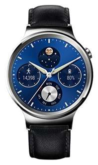 [amazon.it] Huawei Watch Classic mit Lederband in silber