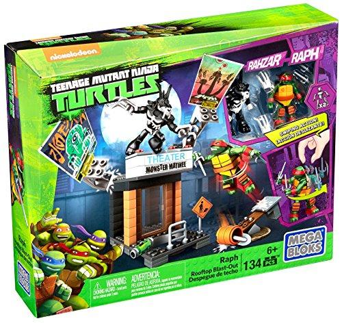 Mega Bloks - Teenage Mutant Ninja Turtles Coole Angriffsaction für 9,83€ bei [Amazon Prime] statt ca. 18€